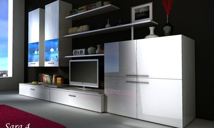 Meuble de salon complet mod le et coloris au choix for Meuble de salon complet