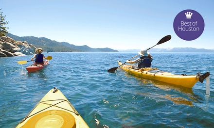 Sunset or Moonlight Kayak Tour for Two, or Kayak Tour for Two, Four, or Six from Beach Town Tours (Up to 63% Off)