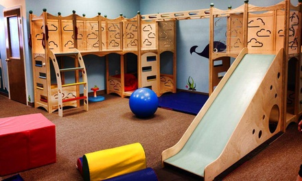 Kids' Tumbling Package or Birthday Party at Aptitude Explore and Sea Children's Gym & Therapy (Up to 64% Off)