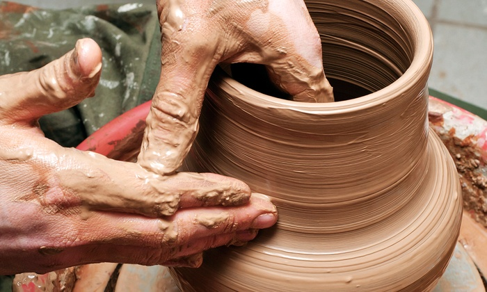 The New Phoenix Pottery - Cockeysville: Three-Hour Introductory Pottery Class, or 6 or 12 Two-Hour Pottery Classes at The New Phoenix Pottery (Up to 65% Off)