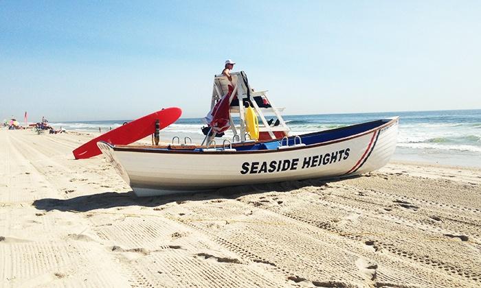 Seaside Heights Beach - Beach Control Headquarters: Beach Passes at Seaside Heights Beach (Up to 51% Off). Four Options Available.