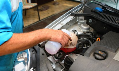 image for Two Conventional or Synthetic Oil Changes at California Auto Center (Up to 61%  Off)