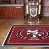 Up to 54% Off a San Francisco 49ers Rug from My Sports Rug