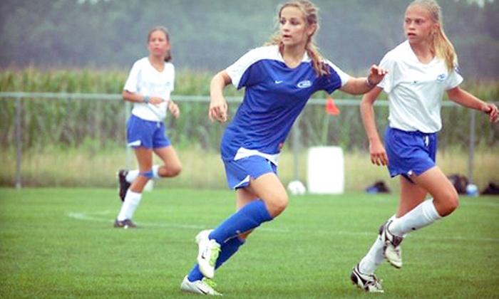Idaho Rush Soccer - Central Bench: Youth Soccer Program from Idaho Rush Soccer (Half Off). Three Options Available.