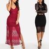 Lace Spaghetti Strap Maxi Dress or Lace Set (2-Piece)