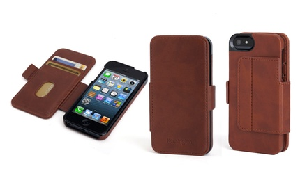 groupon daily deal - Kensington Portafolio Duo Wallet Case for iPhone 5/5s. Multiple Styles Available.