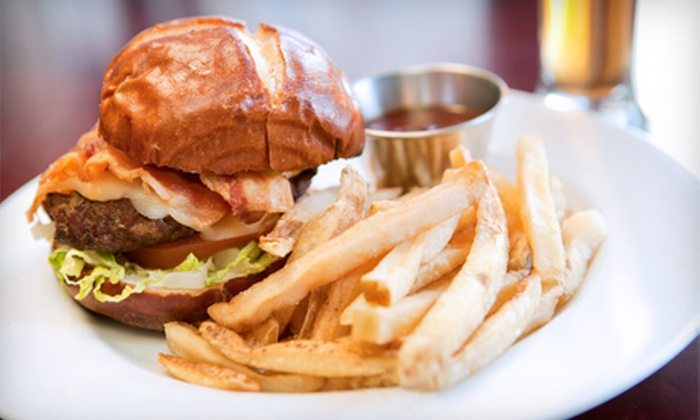 Tap House HB - Huntington Beach: Burger or Salad Meal for Two or Four, or $15 for $30 Worth of Food at Tap House HB (Up to 57% Off)
