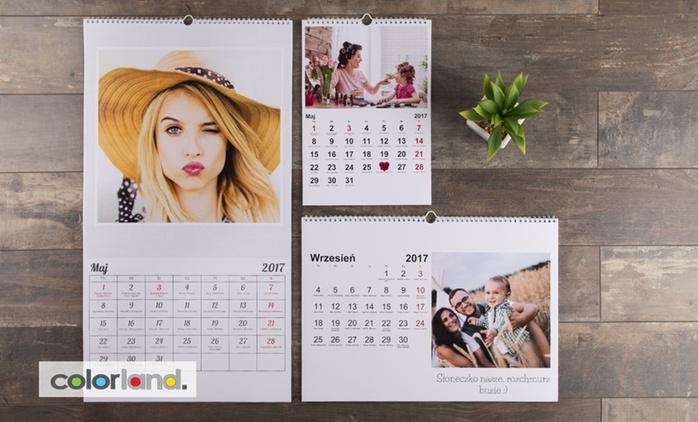 Od 19,90 zł: 13-stronicowy fotokalendarz z Twoimi zdjęciami w różnych formatach do wyboru na Colorland.pl (do -81%)