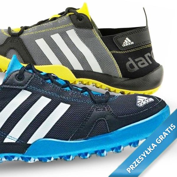 Adidas CLIMACOOL Daroga Two Q21029 szaro czarno czerwony