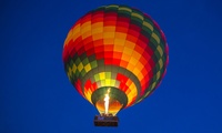 Hot Air Ballooning with 4×4 Safari Vehicle Ride, Breakfast and Falconry Show from Sindbad Gulf Balloons (Up to 29% Off)