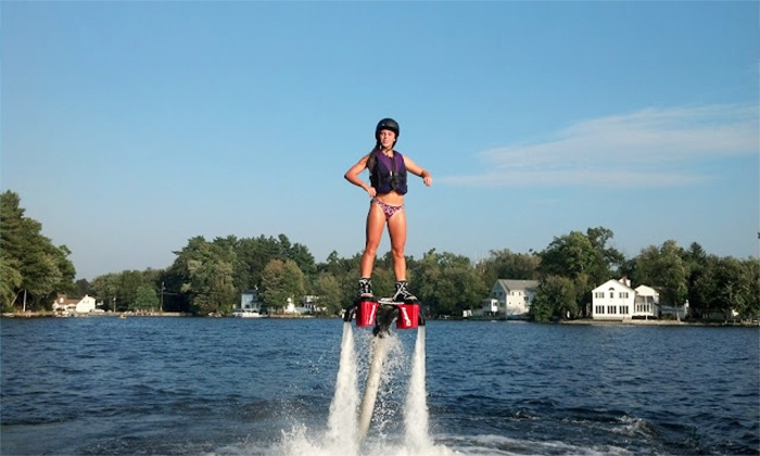We Deliver Water Sports - Miami: $149 for a Flyboard Lesson with Equipment Rental and Delivery from We Deliver Watersports ($299 Value)