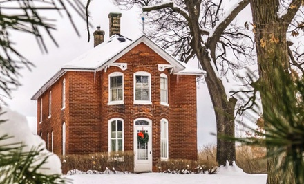 2-Night Stay for Two or Four at Strawberry Farm Bed and Breakfast in Muscatine, IA. Combine Up to 10 Nights.