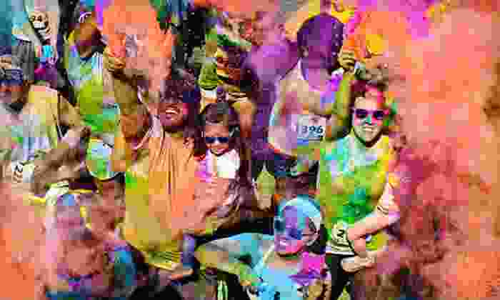 Color Me Rad - Sedgwick County Park: $20 for a 5K Race from Color Me Rad on Saturday, May 4, at Sedgwick County Park (Up to $40 Value)