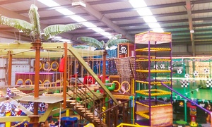 MISTER TWISTERS WACKY WORLD OF FUN: From £6 for Soft Play with High Ropes (from £8) for Four at Mister Twister's Wacky World of Fun (Up to 78% Off)