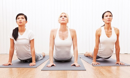 One Month of Unlimited Yoga or Five Yoga Classes at Yoga Fire (Up to 62% Off)
