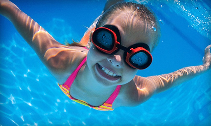 Donna's Dolphins Swim School - Briargate: 2 Private Lessons and 5 Bubble Rides, or 1 Private and 4 Group Lessons at Donna's Dolphins Swim School (Up to 51% Off)