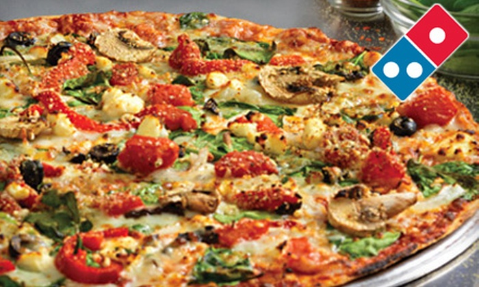 Domino's Pizza - Multiple Locations: One or Two Large Pizzas with Sides, Soda, and Dessert at Domino's Pizza (Up to 54% Off)