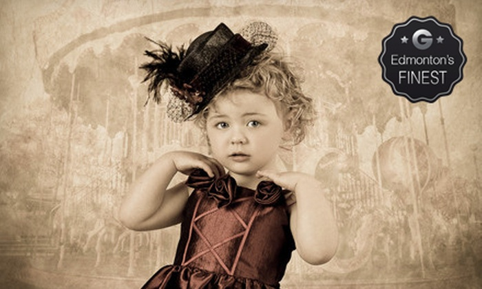 Show And Tell Photos - Sherwood Park: Photo Shoots with Prints and Digital Images at Show And Tell Photos (91% Off). Three Options Available.