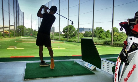 Two or Four 60-Minute Heated and Covered Driving-Range Sessions at 21 Golf Driving Range (Up to 50% Off)