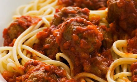 Italian Dinner for Two or Four at Cioffi's (Up to 51% Off)