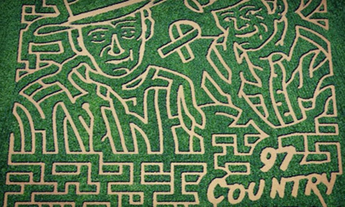 The Smith Family Ranch - Lakeland: The Maize Corn Maze for Two or Four at The Smith Family Ranch (Up to 53% Off)