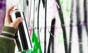 Zap Grafitti Arts: Graffiti Art Class with Take-Home Print For One (£20) or Two (£36) with Zap Graffiti Arts