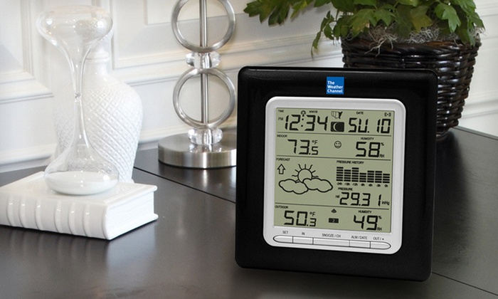 Wireless Forecast Stations: The Weather Channel Wireless Forecast Station (Up to 60% Off). Two Options Available. Free Shipping and Free Returns.