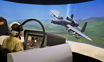 Flight Simulation and Museum Day for One, Two, or Four from Aviation Xtreme at Wings Over the Rockies Air & Space Museum