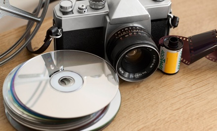 Film, VHS, Digital Tape, and Other Media Transfers to DVD at A Video Memories (Up to 60% Off). Two Options Available.