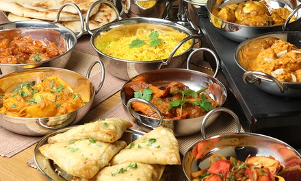 6-Course Indian Feast for 2 ($34), 4 ($66), 6 ($99), or 8 People ($130) at Mirchi's Indian Cuisine (Up to $295.92 Value)