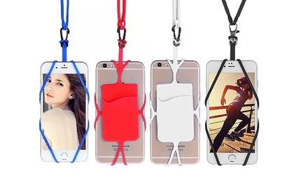One (AED 39) or Two (AED 59) Universal Smartphone Lanyard Necklaces