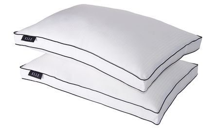 2-Pack of ELLE 1,000-Thread-Count Down Alternative Pillows