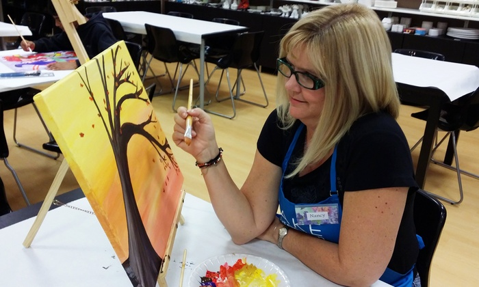 Make Expression - Legacy Ranch: BYOB Painting Class for One, Two, Four, or Up to 25 at Make Expression (Up to 46% Off)