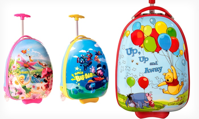 $44.99 for a Heys Luggage Disney Rolling Suitcase | Groupon