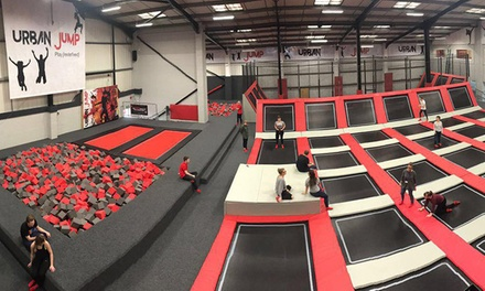 One- or Two-Hour Open Jump and Urban Rainforest Experience Session for Up to Four at Urban Jump (Up to 35% Off)
