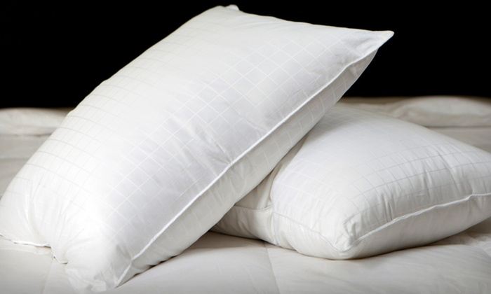 2-Pack of Down-Alternative Pillows: Gel-Filled Down-Alternative Pillow 2-Pack (Up to 56% Off). Free Shipping.