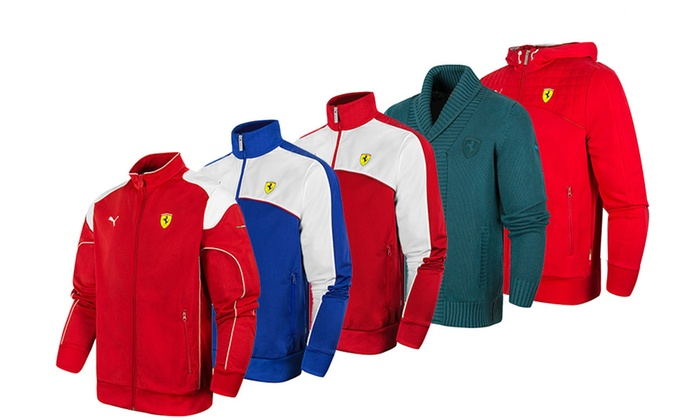 1803848cda3502 Men s Puma Ferarri Jackets