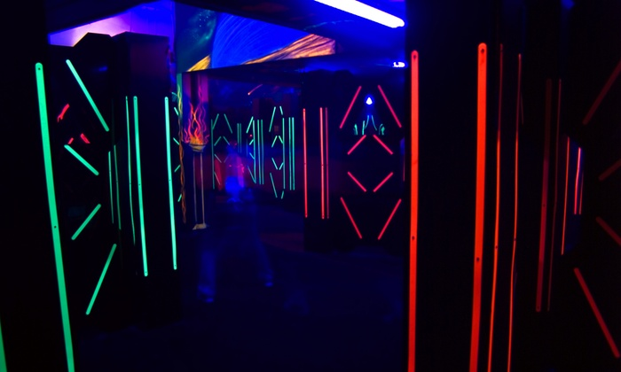 Red Zone Adventures - Lutherville - Timonium: Two Laser-Tag Games, Two Laser-Maze Trips, and Five Arcade Tokens at Red Zone Adventures (53% Off)