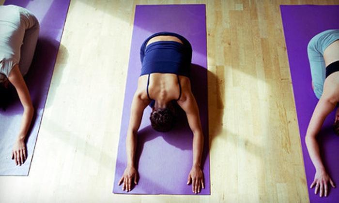 Sanga Yoga Studio - Vancouver: 10 or 20 Drop-in Yoga Classes at Sanga Yoga Studio (Up to 74% Off)