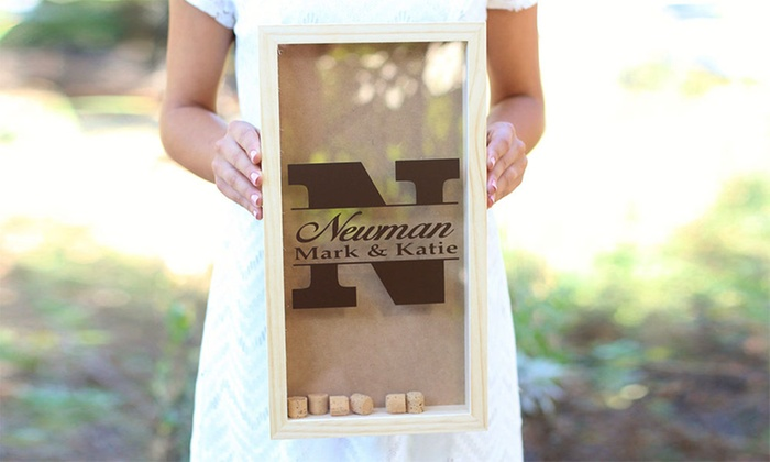 Morgann Hill Designs: One or Two Personalized Wine-Cork Keepers from Morgann Hill Designs (Up to 57% Off)