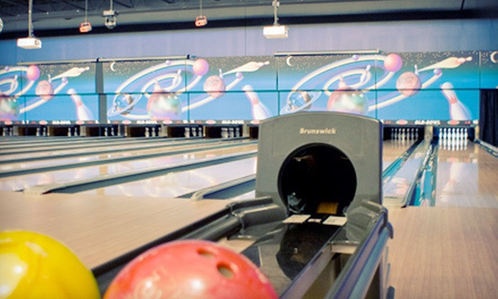 Glo-Bowl Fun Center - Marengo: Bowling and American Food for Four or Eight at Glo-Bowl Fun Center in Marengo (Up to 71% Off)