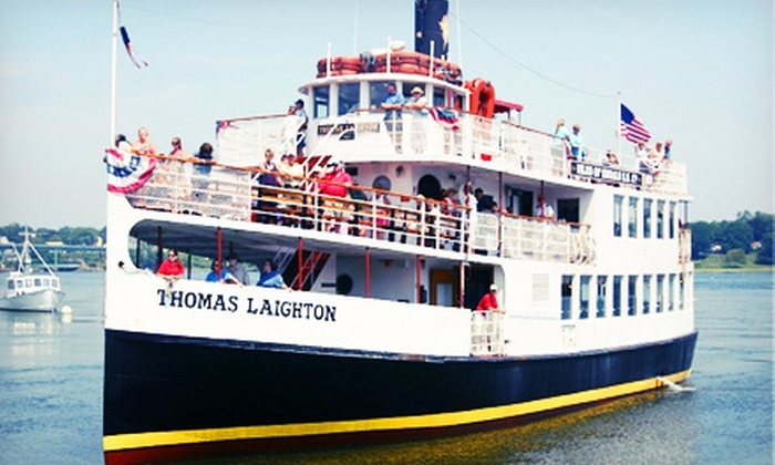 Isles of Shoals Steamship Company - Boston: $14 for a Historic Harbor Tour from Isles of Shoals Steamship Company in Portsmouth (Up to $28 Value)
