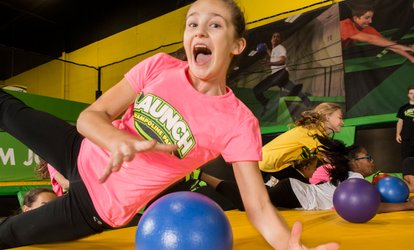 Up to 46% Off Jump Passes and More at Launch Trampoline Park