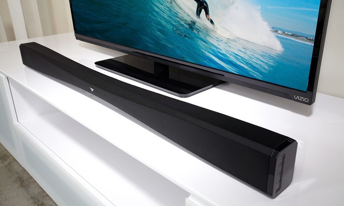 Vizio 2 1 Channel Home Theater Sound Bar With Wireless Subwoofer
