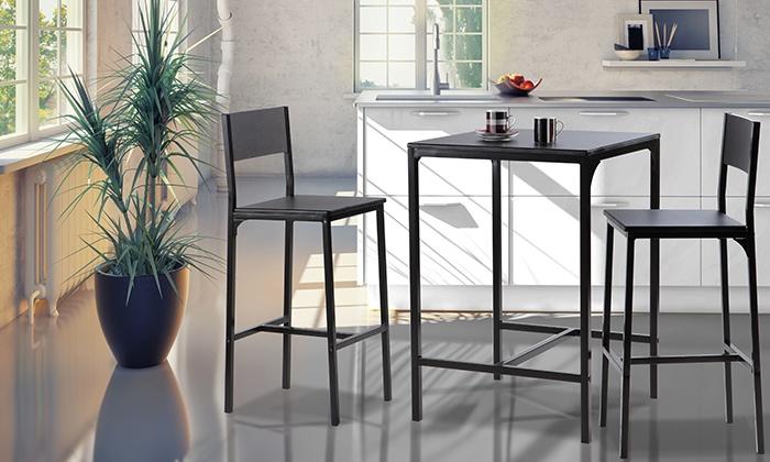 Set tavolo con sedie o sgabelli groupon goods
