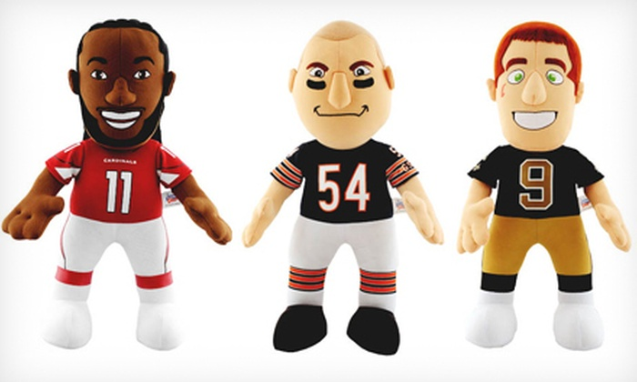 MLB and NFL Bleacher Creatures: $15 for an MLB or NFL Bleacher Creature Plush Doll ($21.99 List Price). 32 Options Available. Free Shipping.