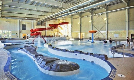 One-Day Admission for Two or a Family of Five at Shindleman Aquatic Centre (Up to 43% Off)