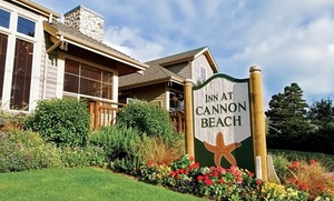 Lodge-Style Hotel on Oregon Coast at Inn at Cannon Beach, plus 6.0% Cash Back from Ebates.
