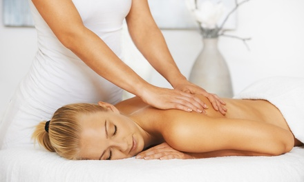 50- or 80-Minute Pure Relaxation Massage or Three 25-Minute Massages at Spa LaLe (Up to 45% Off)
