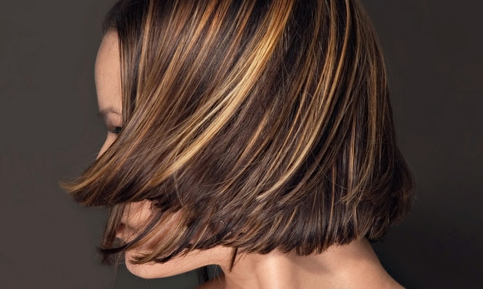 Hair by Emma - Wheaton: Haircut and Style with Option for Partial or Full Highlights or a Color Touchup at Hair by Emma (Up to 56% Off)